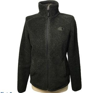 The North Face Sherpa Green ZIP Jacket